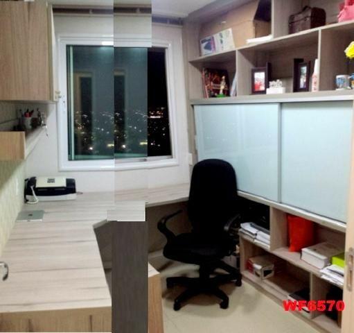 Allegro condomínio, 2 quartos, gabinete, projetado, alto luxo, andar alto, lazer completo - Foto 7