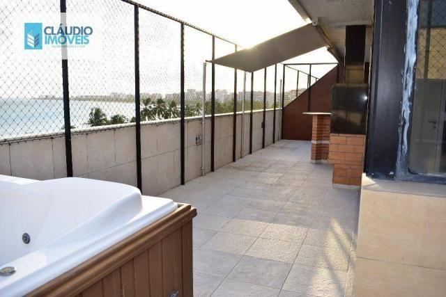 Apartamento cobertura duplex, 4 quartos, 2 suítes, 3 vagas na Ponta Verde, Maceió, Alagoas
