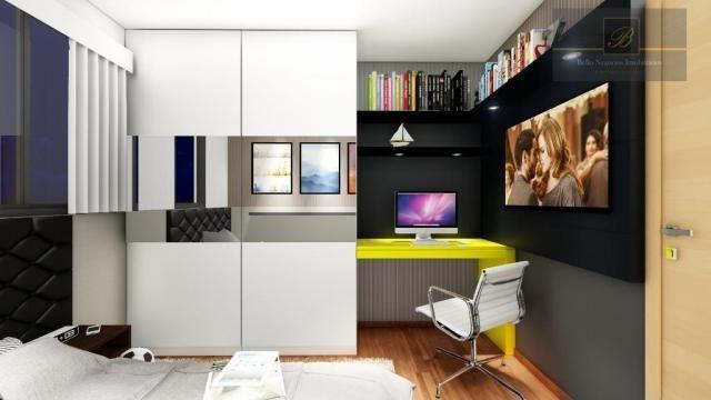 Apartamento com 1 dormitório à venda, 58 m² por R$ 289.425 - Santo Antônio - Joinville/SC - Foto 7