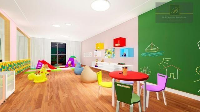 Apartamento com 1 dormitório à venda, 58 m² por R$ 289.425 - Santo Antônio - Joinville/SC - Foto 2