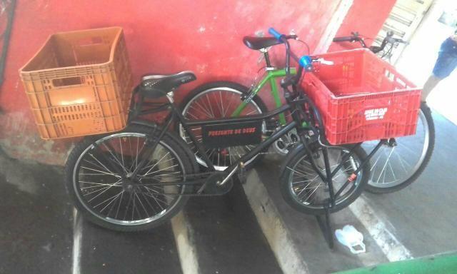 Vendo uma bicicleta de carga