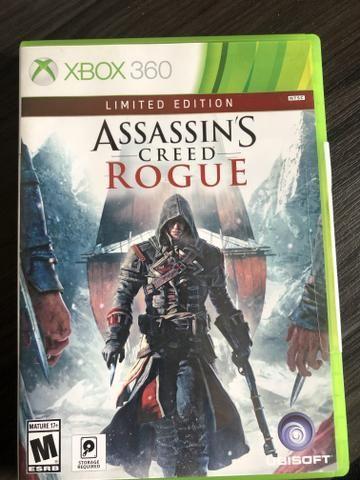 ASSASSINS CREED rogue( edição limitada ) Xbox 360