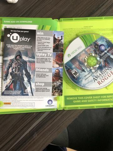 ASSASSINS CREED rogue( edição limitada ) Xbox 360 - Foto 3