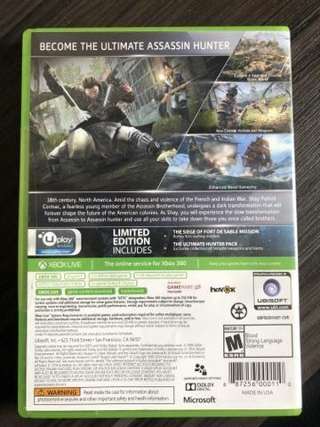 ASSASSINS CREED rogue( edição limitada ) Xbox 360 - Foto 2