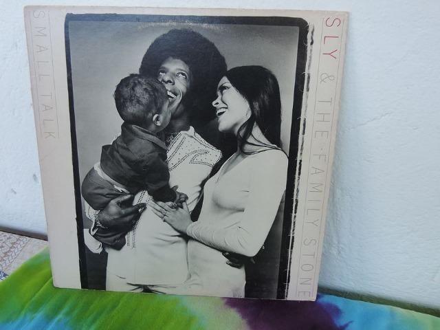 Lp - Sly & The Family Stone -small Talk (importado/1974)