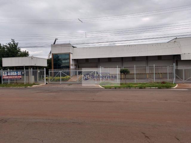 Barracão para alugar, 750 m² por R$ 15.000,00/mês - Terminal Intermodal de Cargas (TIC) -  - Foto 2