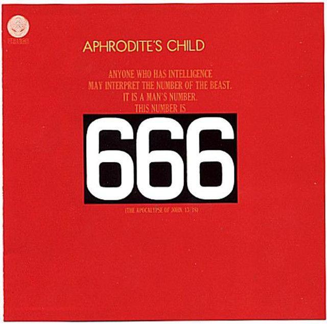 Aphrodite's Child - 666 02CDs