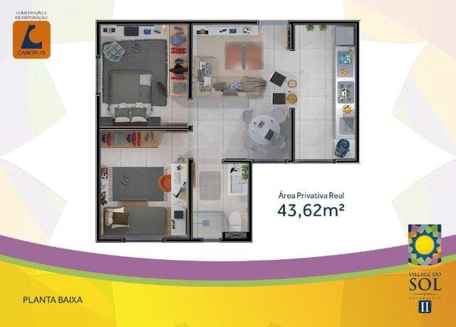 Apartamento, 2 quartos, village do sol II