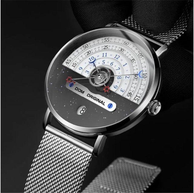Dom M-1288 Relógio De Moda Masculina Criativa 3atm
