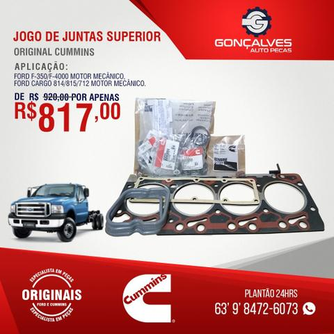 JOGO DE JUNTAS SUPERIOR ORIGINAL CUMMINS