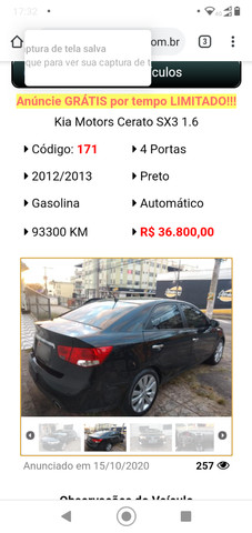 Kia Cerato Sx3 - Foto 2