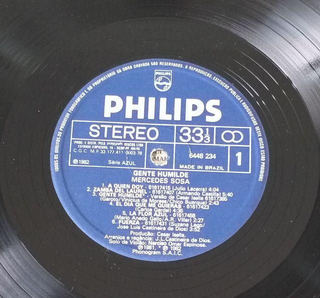 LP Vinil Mercedes Sosa 1982 - Foto 4