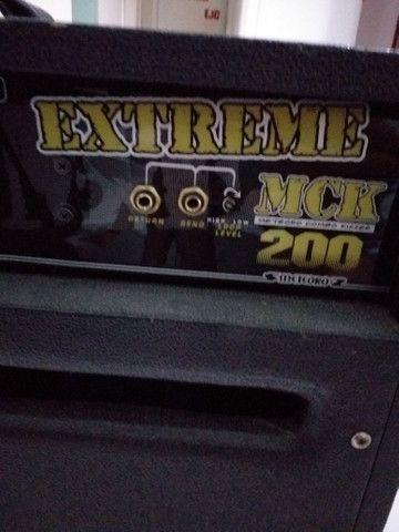 Vendo amplificador de guitarra! meteoro mck 200w amdreas kisser - Foto 5
