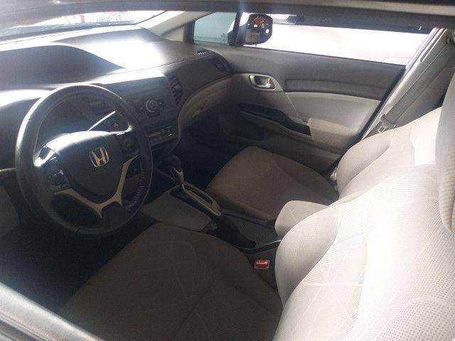 Honda Civic  LXS automático 2013 - Foto 6