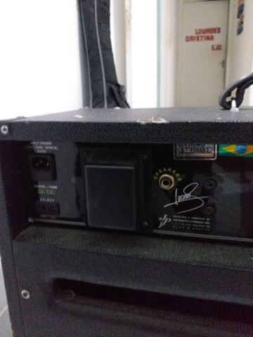 Vendo amplificador de guitarra! meteoro mck 200w amdreas kisser - Foto 2