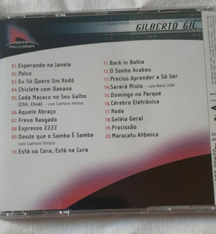 CD do Gilberto Gil - novo/lacrado - Foto 2