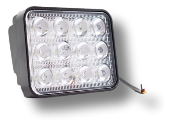 Farol de led 72w 12 e 24 volts Universal Par