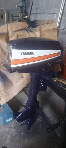Motor de popa yamaha 8hp  - Foto 4