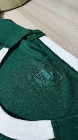 Camisa do Palmeiras Tam P e G verde Masculina nova na etiqueta sem uso  - Foto 2