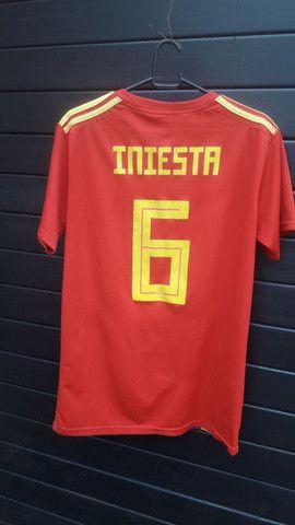 Camisa Espanha.  - Foto 4