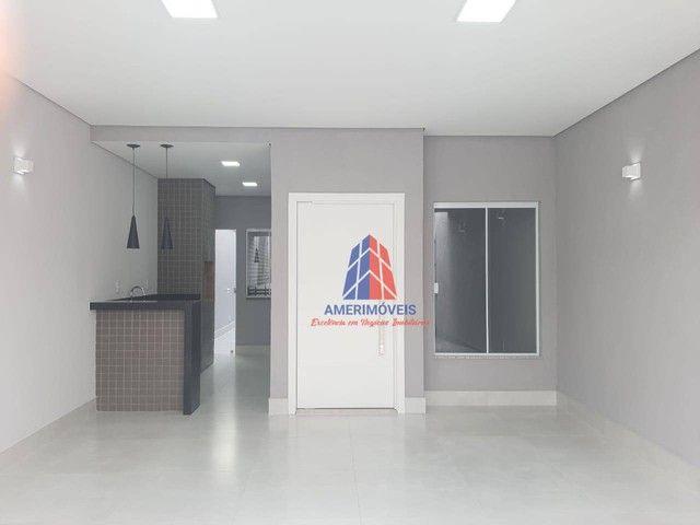 Casa com 3 dormitórios à venda, 119 m² por R$ 437.000,00 - Jardim Santa Rosa - Nova Odessa - Foto 2