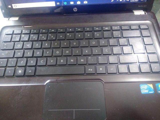 Notebook Hp, core i5 primeira geração, HD 1 terá, 4gb memória