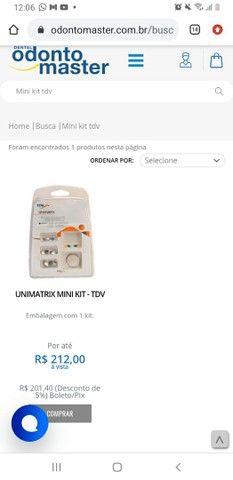 Vendo kit tdv + régua endodontica - Foto 3