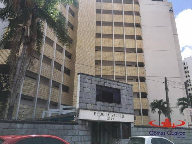 Apartamento com 3 dormitórios para alugar, 129 m² por R$ 1.400/mês - Dionisio Torres - For - Foto 2
