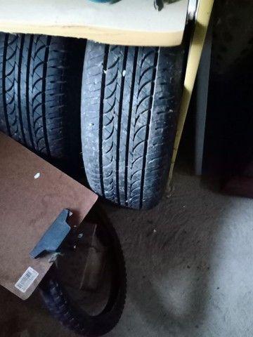 Roda de liga com pneu - Foto 2