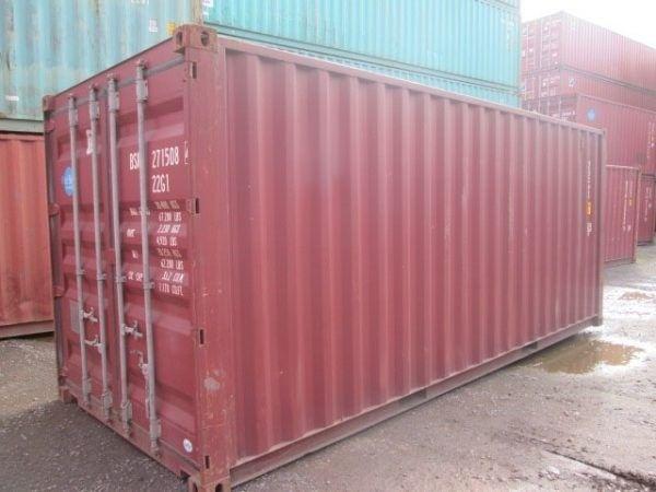 Container em Salvador de 20 pés 6 metros a R$ 11.800,00