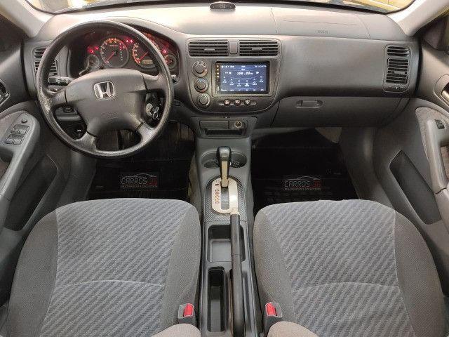Honda civic sedan lx 1.7 16v (aut) - Foto 8