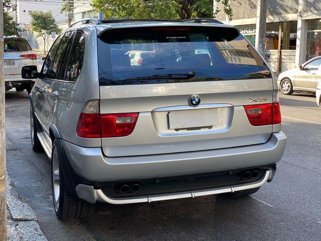 BMW X5 4.4 SPORT  TOP V8 ÚNICO DONO - Foto 18