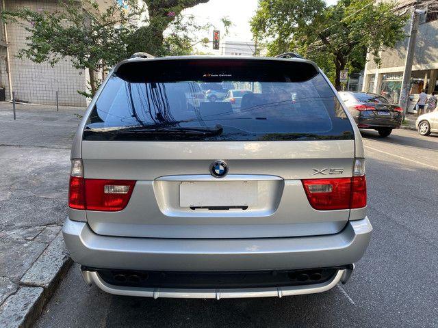 BMW X5 4.4 SPORT  TOP V8 ÚNICO DONO - Foto 7