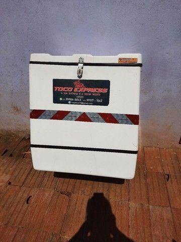 Baú caixa de motoboy bem cuidado - Foto 4