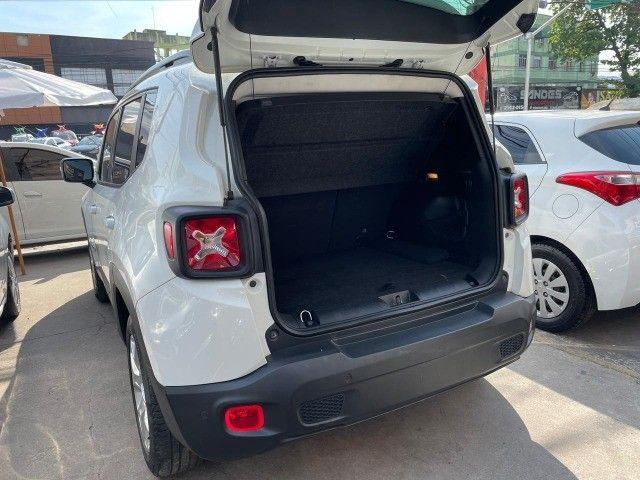 Jeep Renegade Longitude - 2016 - 1.8 Flex Auto - Branco  - Foto 5