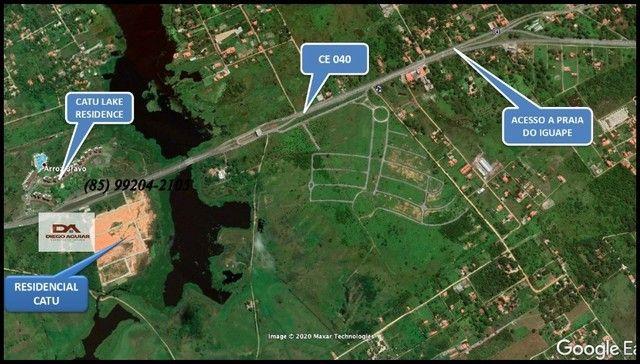 =§ Loteamento aberto, localizado às margens da Lagoa do Catu!