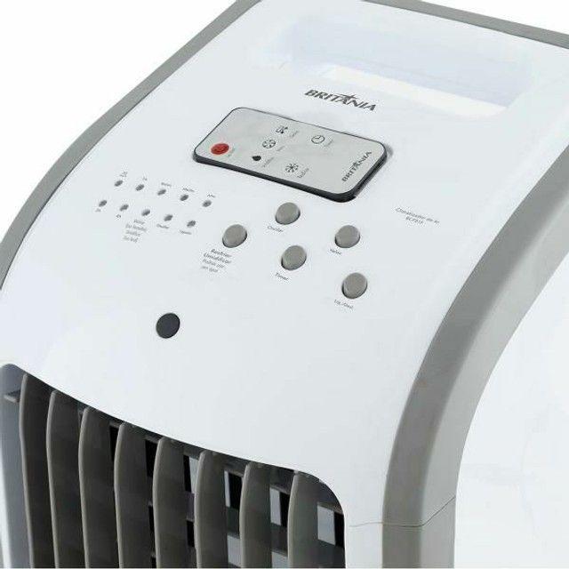 Climatizador Britânia BCL01F Resfria, Umidifica e Ventila 3 Velocidades - Foto 2