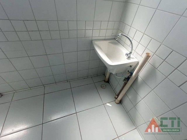 Apartamento com 2 dormitórios para alugar, 56 m² por R$ 1.350,00/mês - Iputinga - Recife/P - Foto 20