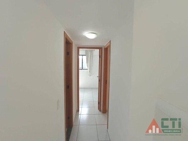Apartamento com 2 dormitórios para alugar, 56 m² por R$ 1.350,00/mês - Iputinga - Recife/P - Foto 9