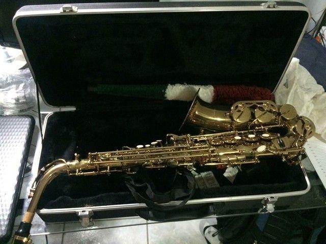 Saxofone Alto Shelter novo - Foto 6