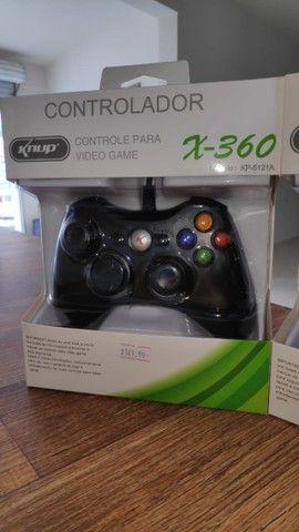 Controle para Xbox 360 e Computador! (Novo com Garantia)