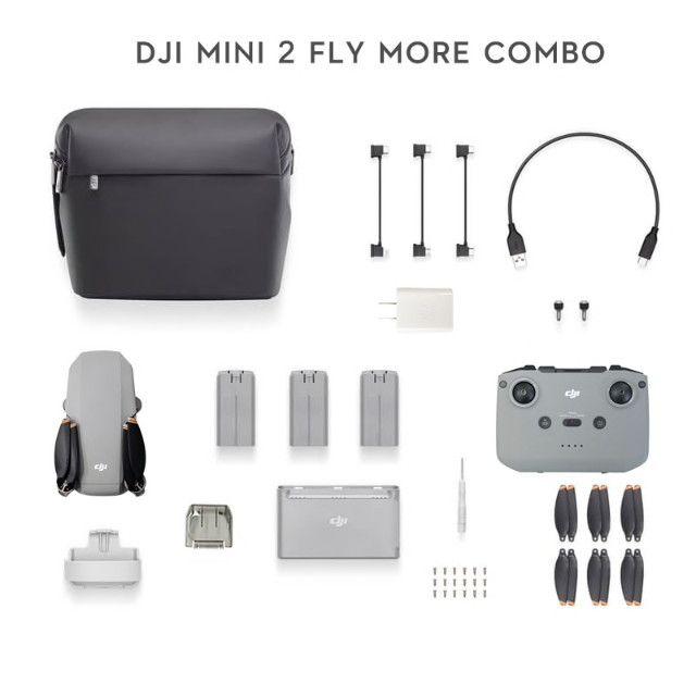 Drone Mini2 DJI Fly More Combo