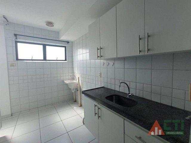 Apartamento com 2 dormitórios para alugar, 56 m² por R$ 1.350,00/mês - Iputinga - Recife/P - Foto 17