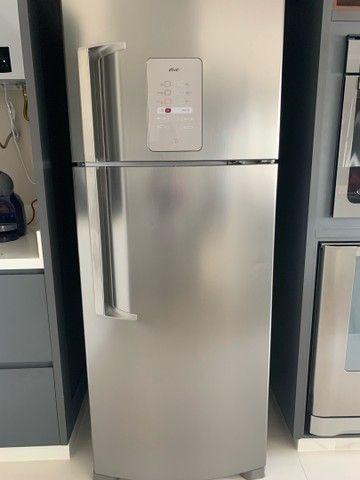 Frost Free Duplex 429 litros cor Inox com Smart Bar