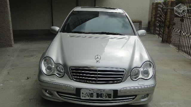 MERCEDES-BENZ C-230 KOMPRESSOR 23.800KM BLINDADA