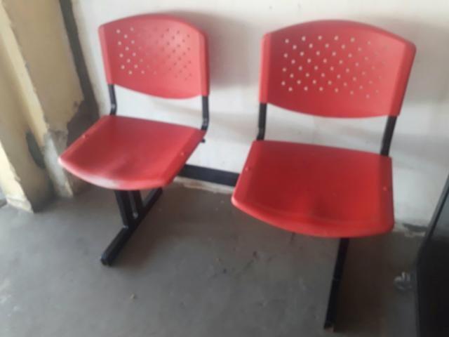 Cadeira Longarina Usada