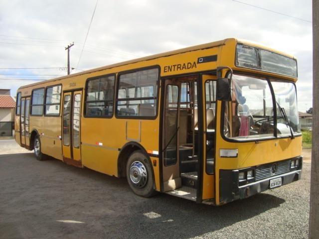Ônibus Circular 1992 motor mercedes 1525