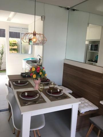 Casa de 2/4 na laje em Condomínio - Região Jardim Cruzeiro e Feira IX - Ent Facilitada - Foto 12
