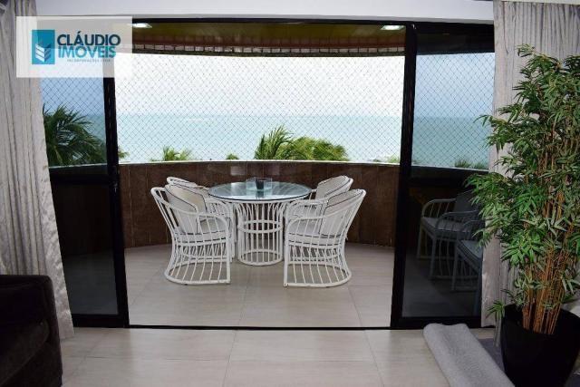 Apartamento Beira-mar, 200m², 3 suítes e 3 vagas na Ponta Verde, Maceió, Alagoas
