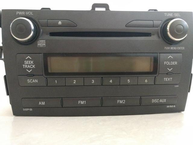 Radio CD Player Toyota